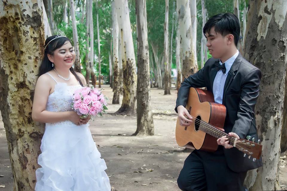 Cuong got married in 2016