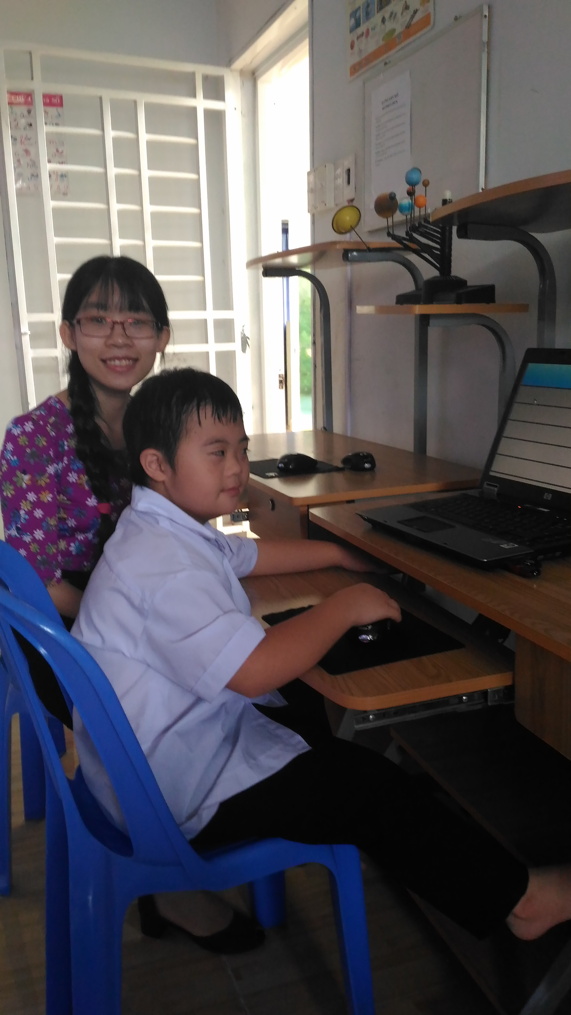 Tien took part in Doudoulinux Project in Long Hai